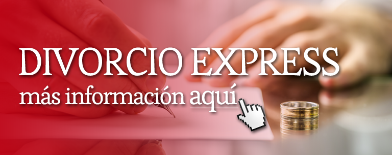 Divorcio Express Banner