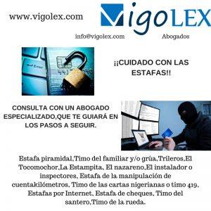 Estafa piramidalTimo del familiar y_o gruaTrilerosEl TocomochorLa EstampitaEl nazarenoEl instalador o inspectoresTimo de la rev